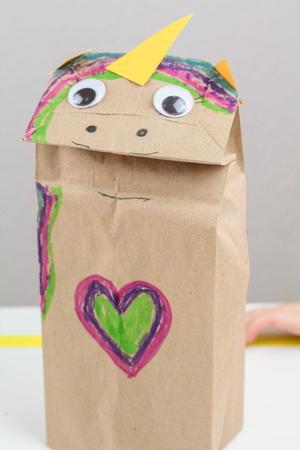 Easy Unicorn Paper Bag Craft Favecrafts Com