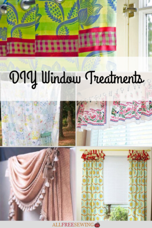 Window Valence Pattern : window, valence, pattern, Sewing, Patterns, Window, Treatment, Projects, AllFreeSewing.com