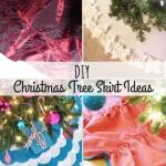 20 Diy Christmas Tree Skirt Ideas Free Patterns Allfreesewing Com