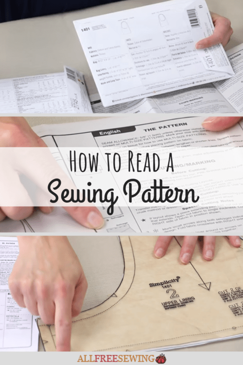 How To Read A Pattern : pattern, Sewing, Pattern, AllFreeSewing.com