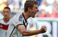 Muller, triplă pentru Germania împotriva Portugaliei