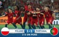 Portugalia, prima semifinalistă la UEFA EURO 2016