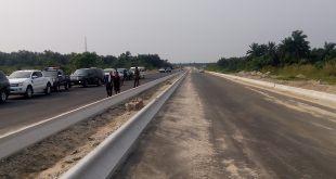 19.5km Eket - Ibeno road