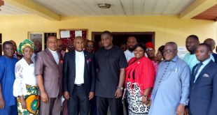 Frank Archibong With Akwa Ibom State CAN Exco
