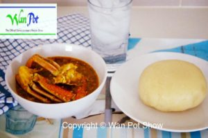 fufu and okra soup12