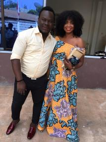I Rep Salone interview with Hudson Martins - a Sierra Leonean Fashion Designer2