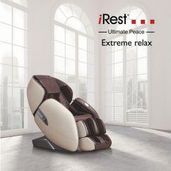 Irest Massage Chair Blue Metal A389 2