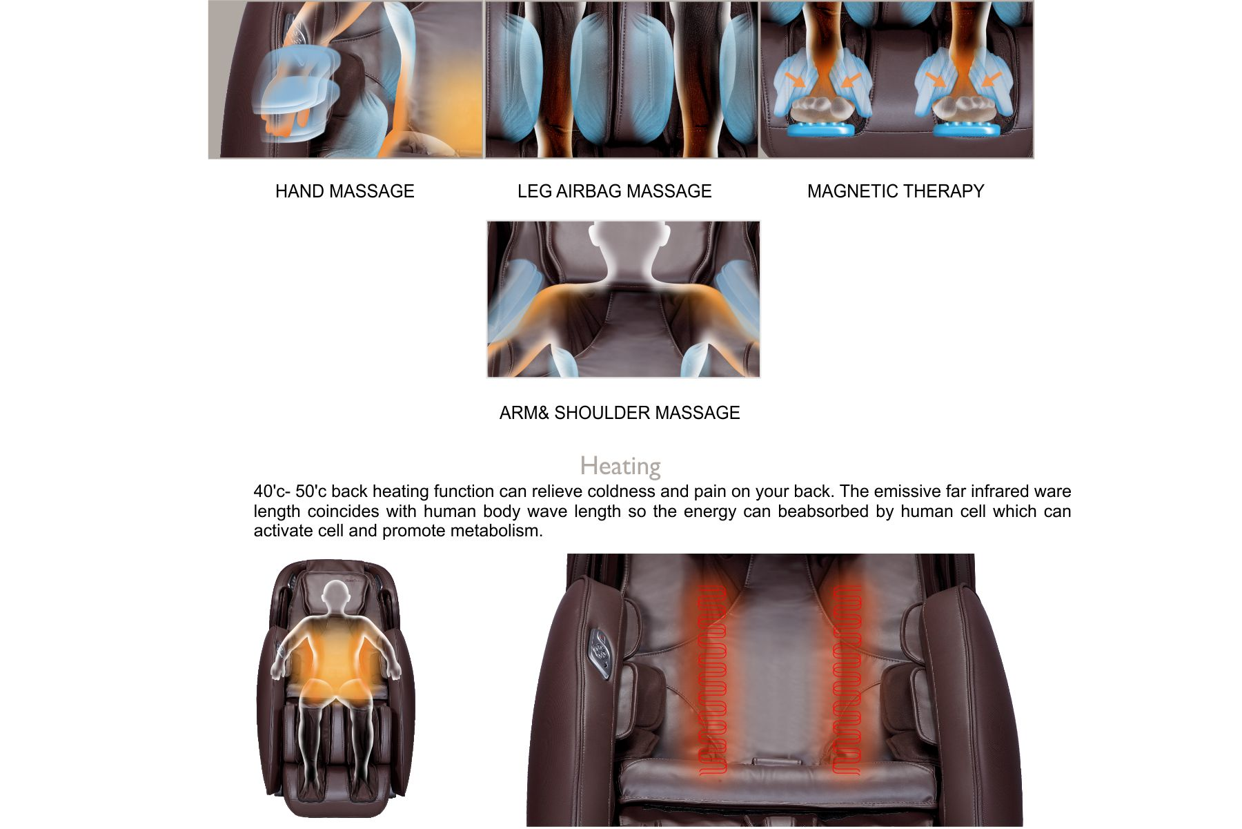 irest massage chair chevy tahoe with captain chairs a389 2