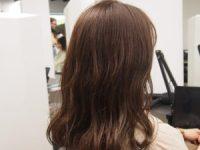 イレス札幌円山店の髪質改善しながらカラーエステ