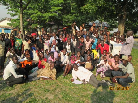 Excited MAAYOC 2015 participants for group photo