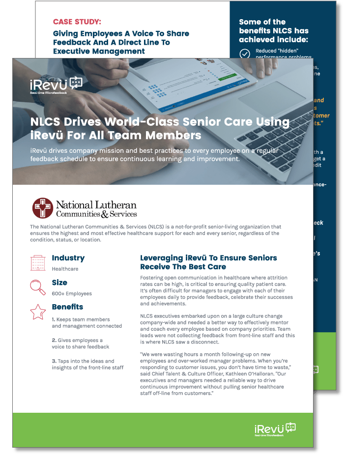 NLCS healthcare performance management case study preview
