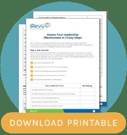 leadership printable blog CTA