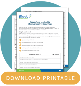 leadership printable blog CTA
