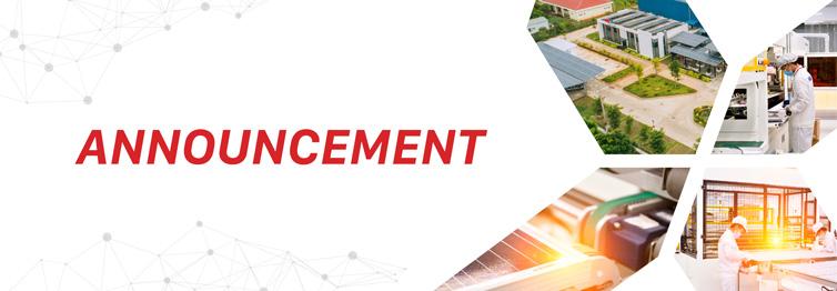 Announcement - IREX