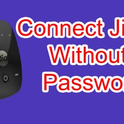 Connect Jiofi Without Entering Password