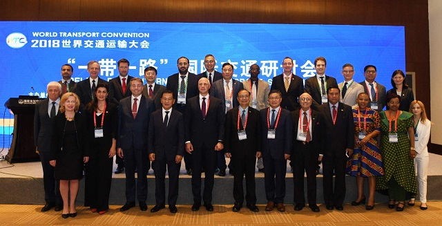 IRF at WTC 2018 to support the organisation of The Belt & Road Transport Alliance
