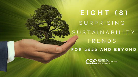 Sustainability Trends for 2020 and beyond