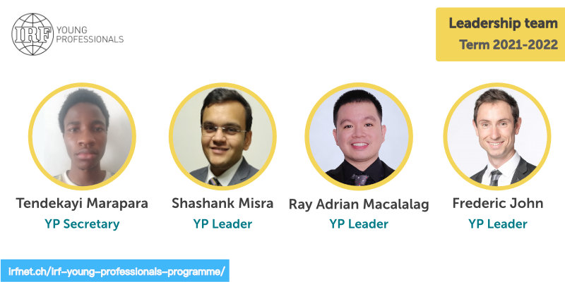 New IRF Young Professionals Leadership Team
