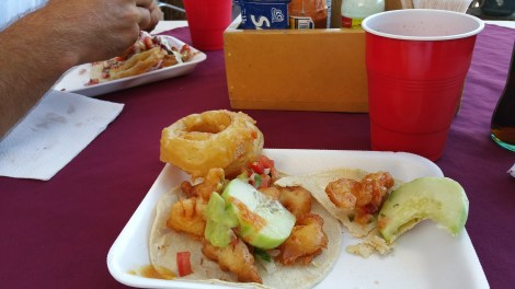 17 peso camaron tacos for breakfast