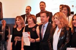 Raquel Ríos recibe el premio galería de innovación