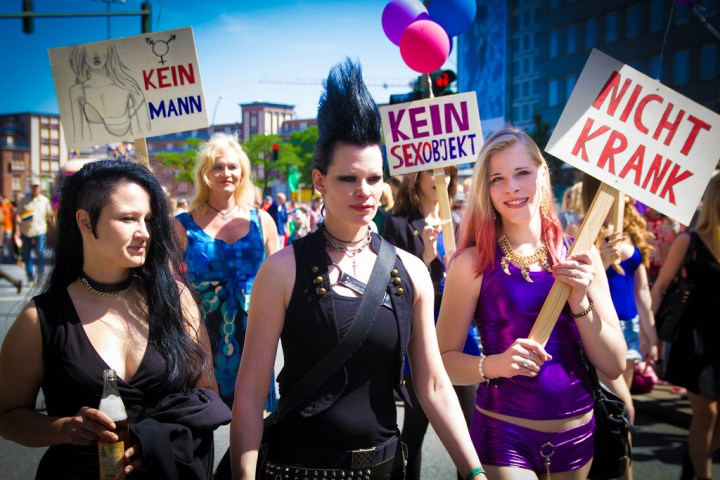 IT'S A WORLD OF VIBRANT, HEALTHY AND EMPOWERED TRANS WOMEN