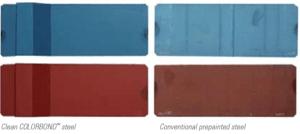 Iridak clean colorbond Roofing Sheet