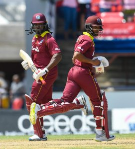 Shai Hope and Chris Gayle named as vice captains of West Indies team