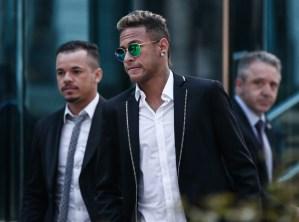 Neymar testified to Brazilian prosecutors for five hours yesterday