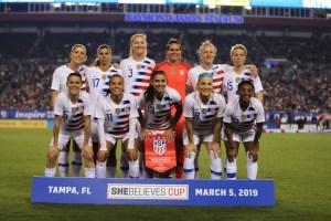 US Women's team file gender discrimination lawsuit