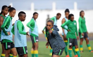 South Africa's women's team coach, insists there are positives to be taken from Sunday's 1-1 with Jamaica