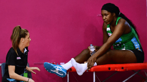 West Coast Fever sweat on fitness of Jamaican star Jhaniele Fowler