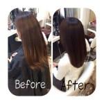 【お客様Style】本日の美髪改善!