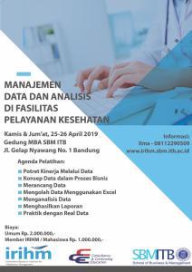 manajemen data; analisis data