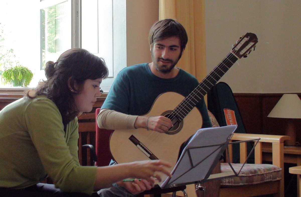 With Krzysztof Pelech