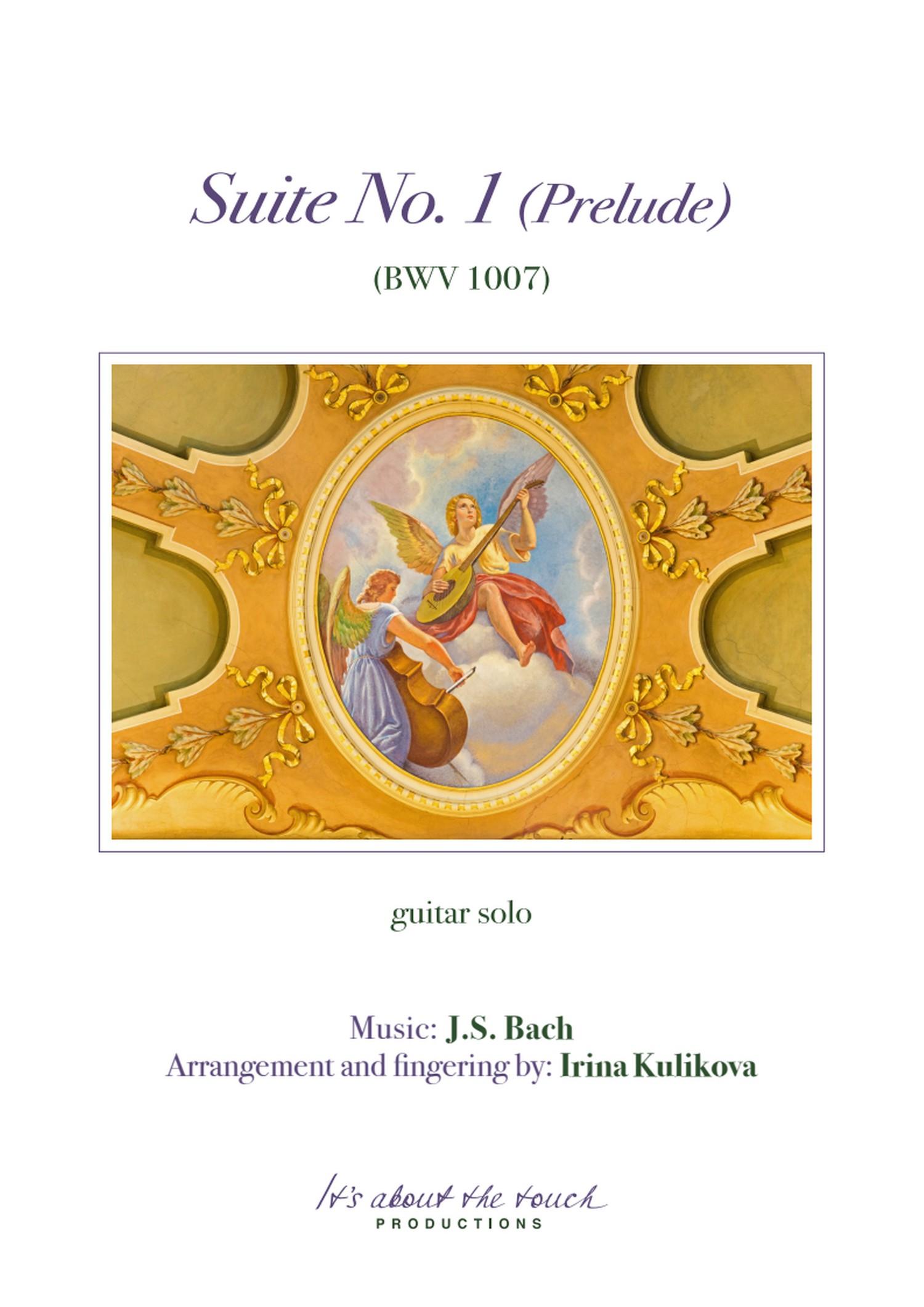 Bach Suite No 1 Prelude Score