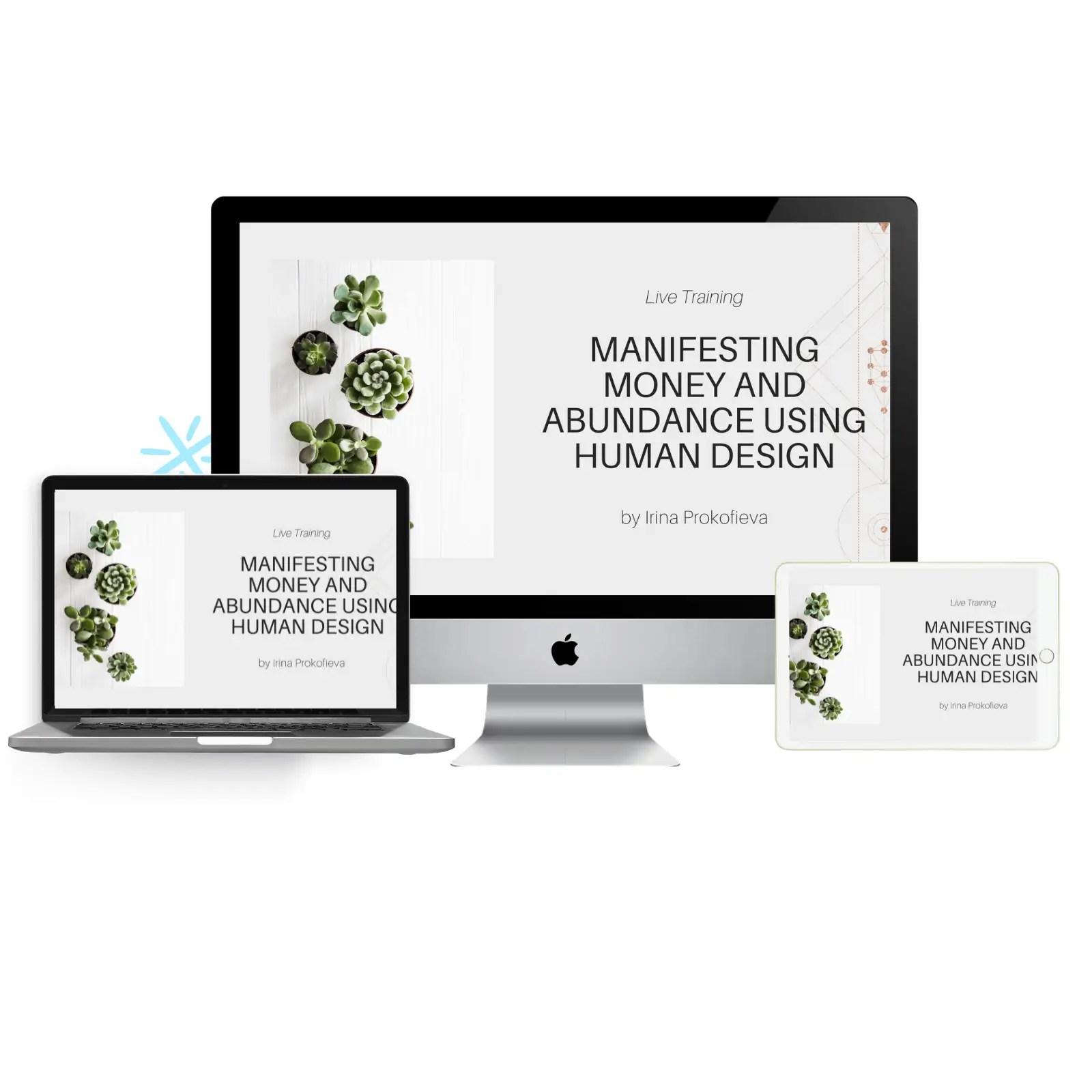 Manifesting money and abundance using human design