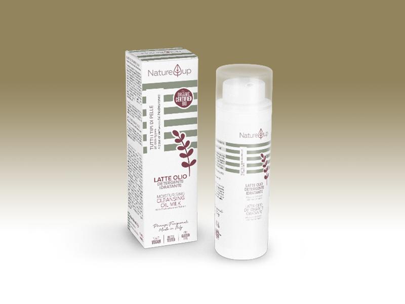 Nature Up - Latte olio detergente idratante