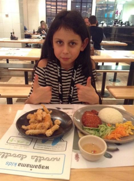 Wagamama Kids Menu review