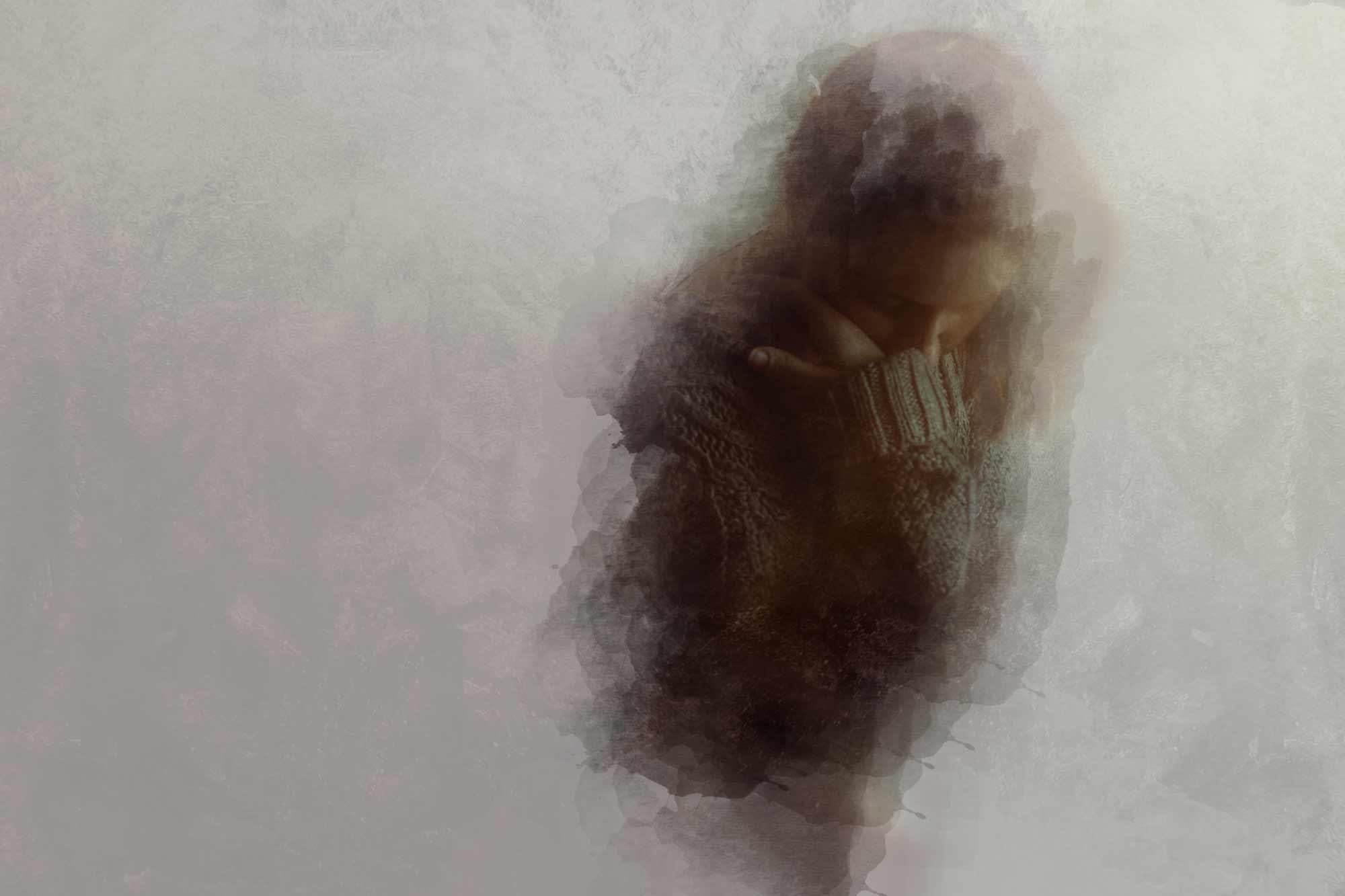 iris encina retrato