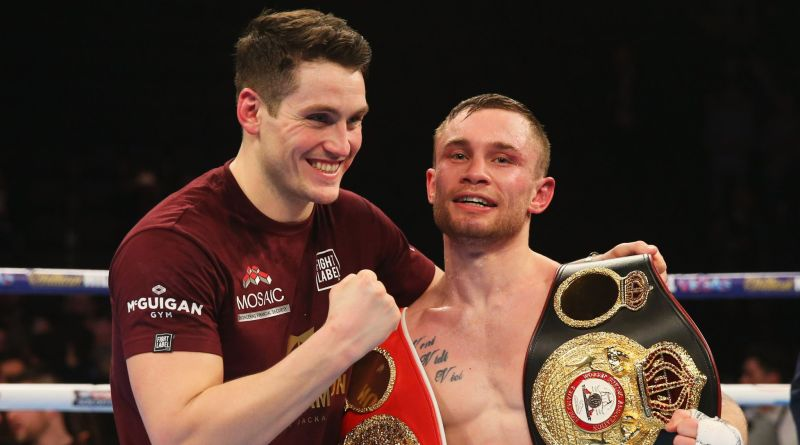 Shane McGuigan allegedly claimed Frampton was 'finished' ahead of Cyclone split