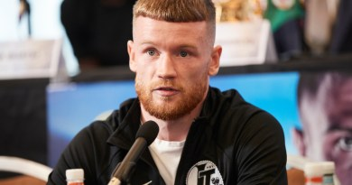 Headline hunter James Tennyson 'fed up' with lightweight American names