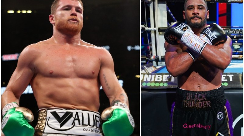 Massive Canelo complement for Caoimhin Agyarko
