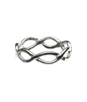 Infinity Band - Sterling Silver