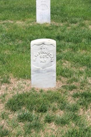 Henry C. Finnegan, 7th New York Heavy Artillery. Died 3rd June 1864.