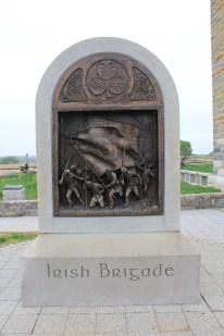 28. Obverse of the Irish Brigade Memorial in the Sunken Lane.