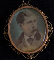 An image of Andrew J. Byrne kept by his family (Damian Shiels)