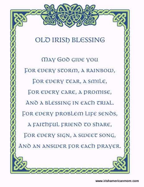 Irish Poem For Mom : irish, Irish, Poems, About, Sitepoems.org