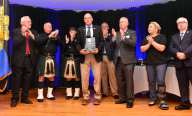 Humanitarian Award presented to Retired Yarmouth Police Officer Peter B. McClelland at the Irish American Police Officers Association Annual Awards Dinner held at The Malden Irish American Club in Malden on Saturday, May 4, 2019. Photography by David Sokol
