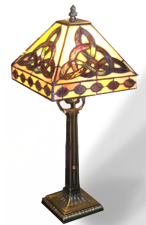 The Trinity Knot Signature Lamp - $155.00