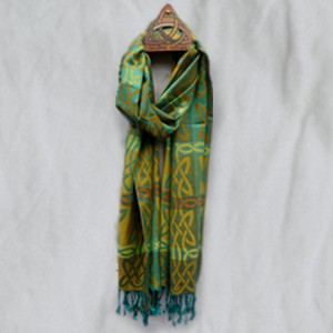 Mulligan Ireland's Pashmina/Silk Shawl - Achill Island - $32.75